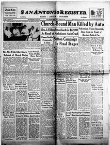 San Antonio Register (San Antonio, Tex.), Vol. 18, No. 10, Ed. 1 Friday, March 26, 1948 San Antonio Register