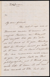 Letter from Lydia Dodge Parker, to William Lloyd Garrison, July 19th [1861]