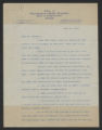 General Correspondence of the Director, Last Names J-L, 1914