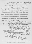 Facsimile of a portion of President Lincoln's draft of the Preliminary Proclamation of Emancipation, September, 1862; From the original in the Library of the States of New York, Albany