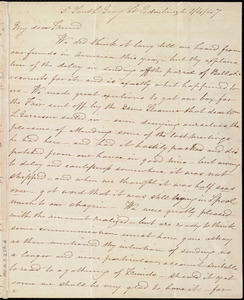 Letter from Jane Wigham, 5 South Gray St[reet], Edinburgh, [Scotland], to Maria Weston Chapman, 1/4/[18]47
