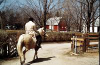 Ali, Muhammad; Boxer. at his Michigan farm in Berrien Springs.