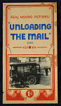 """""""Unloading the Mail 1903"""" Mutoscope Movie Poster"""