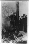 [Charred corpse of Jesse Washington after lynching, Waco, Texas, May 15, 1916]