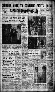 Memphis World, 1960 April 2nd