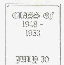 Class of 1948 - 1953