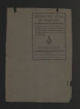 Thumbnail for State records. Alabama: Tuskegee Institute, 1906, 1909, 1924. (Box 61, Folder 10)