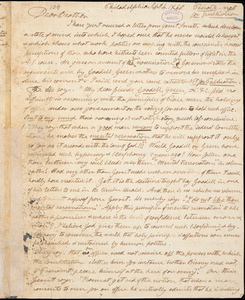 Letter from Henry Clarke Wright, Philadelphia, [Pennsylvania], to William Lloyd Garrison, 1840 Sept[ember] 4