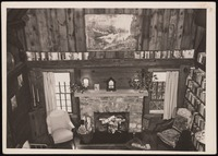 Interior of Five Acres: Living room from balcony