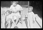 Family of Negro sharecropper, Little Rock, Arkansas