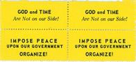 Night Raiders--God And Time Are Not On Our Side! Impose Peace Upon Our Government ... Organize!