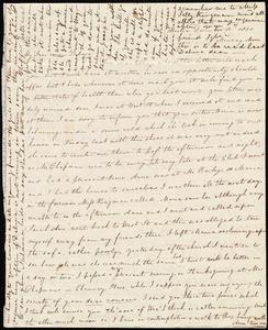Letter from Sylvia Ann Ammidon, Boston, [Mass.], to Deborah Weston, December 13th, 1830