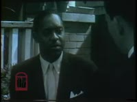 WSB-TV newsfilm clip of an an African American man being interviewed, Savannah, Georgia, 1961 March 23