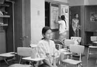 Inna Beltran at Junior High School 149, 1977
