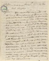 Letter from Joshua Levitt to Thomas Fowell Buxton