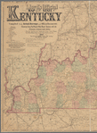 Lloyd's official map of the State of Kentucky