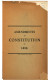 Amendments to Constitution of 1898 Constitution (1898)