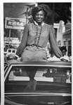 Loretta Glickman with Automobile