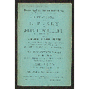 Catalogue of the library of John H. Wheeler, the historian of North Carolina