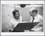 George Avakian with Mahalia Jackson