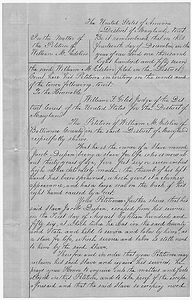 Affidavits and Warrant in the Matter of Jacob Dupen, Fugitive Slave