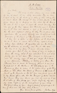Letter from Joseph Warren Cross, Boxboro, to Amos Augustus Phelps, May 3d 1838