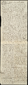 Extract of letters to Richard Davis Webb] [manuscript