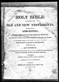 Haskins Family Bible Records