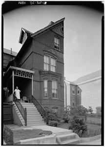 Mary Church Terrell House, 326 T Street Northwest, Washington, District of Columbia, DC