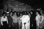 Black Women's Forum event participants posing for a group portrait, Los Angeles, 1982