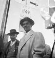 Fred Shuttlesworth and other African Americans during an attempt to integrate buses in Birmingham, Alabama.