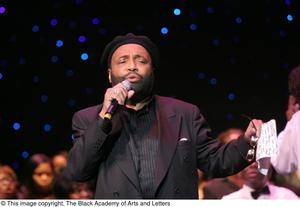 Andraé Crouch on Stage Tramaine Hawkins' Four Decades in Gospel Music