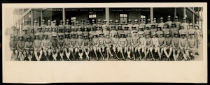 5th Provisional Company officers reserve training Camp Ft. Des Moines Ia.