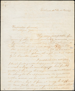 Letter from Nathan Winslow, Portland, [Maine], to William Lloyd Garrison, 1833 [October] 17th