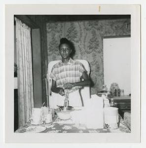 Young Woman Preparing Food