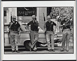 Birmingham, Alabama. Highway patrolmen, outside the site of the bombed 16th Street Baptist Church where four young girls were murdered