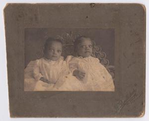 Two African American Babies