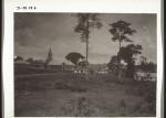 Ansicht von Kirche und Schule der Station Kumase View of church and school of the mission station Kumase