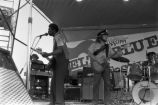 Delta Blues Festival: Roosevelt Boony Barnes and the Tangents, performers on stage, shot of the audience (DBF-1982 #253)
