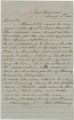 Letter from James A. Cherry in West Point, Georgia, to Bolling Hall in Montgomery, Alabama.