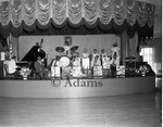 A band on stage, Los Angeles 1958