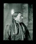 Chief Bushy Head, side view. Oklahoma. 1904