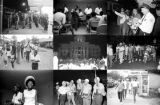 Images of civil rights demonstrations in Montgomery, Alabama.