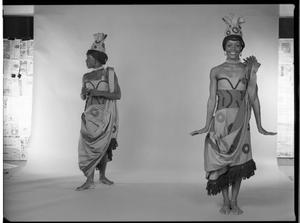 "#4752: ""Afrique"", ""Los Indios"", & ""L' Ag' Ya""; Portraits of Kathryn Dunham and Desmond Richardson at The Ailey Studio"