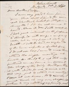 Letter from Joshua Leavitt, New York, to Amos Augustus Phelps, Oct. 7. 1840