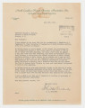 Letter: C. S. Alexander to Honorable William B. Umstead, July 12, 1954