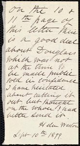 Letter from Richard Davis Webb, Dublin, [Ireland], to Maria Weston Chapman, February 26, 1846