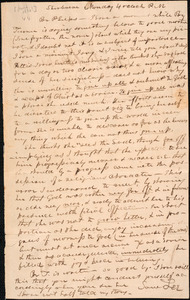 Letter from Samuel Lee, Sherburne, to Amos Augustus Phelps, [June 1830]