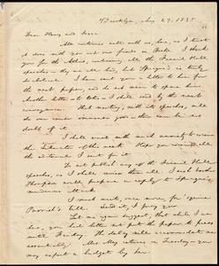 Letter from William Lloyd Garrison, Brooklyn, [Conn.], to Henry Egbert Benson and Isaac Knapp, Aug. 29, 1835