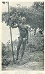 A Borgu canoe - man